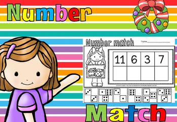 Number match(FREE- FEEDBACK CHALLENGE)
