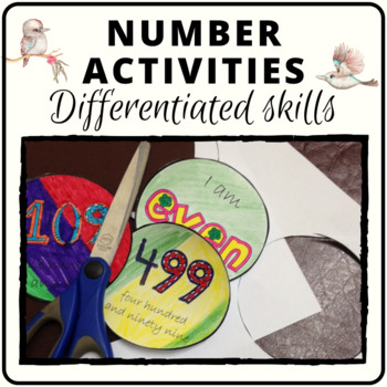 Number mobiles including odd/even activities