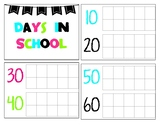 Number of Days in School Chart