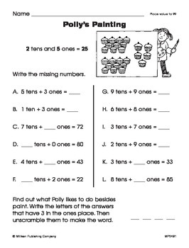 Number of Tens (CCSS 1.NBT.B.2c)
