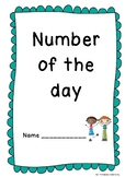 Number of The Day Booklet for Lower Primary! Great for Num
