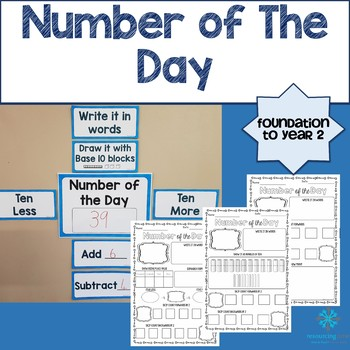 Number of The Day - Foundation to Year 2