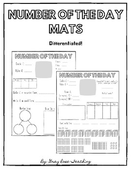 Number of The Day Mats