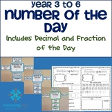 Number of The Day - Year 3 to Year 6