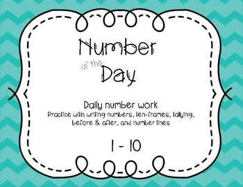 Number of the Day 1-10