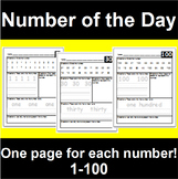 Number of the Day 1-100