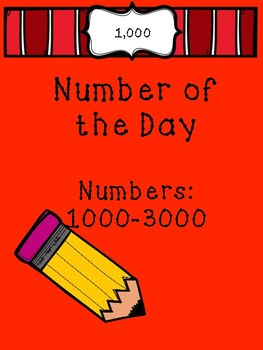 Number of the Day 1000-3000