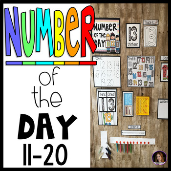 Number of the Day 11-20 Calendar Companion