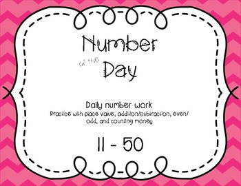 Number of the Day 11-50