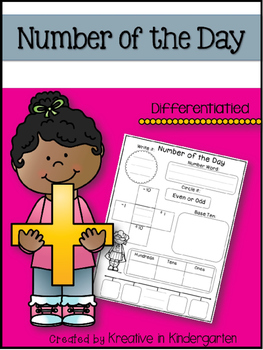 Number of the Day Journal and Powerpoint