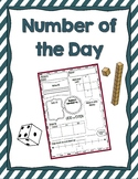 Number of the Day 2nd and 3rd Grade