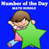 Number of the Day First Grade | Number of the Day Bulletin Board
