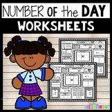 Number of the Day Worksheets | Math Review 2nd Grade