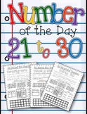 Number of the Day 21-30