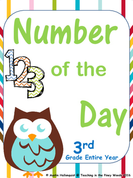 Number of the Day-3rd Grade