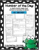 Number of the Day - All Days 1-180 - Daily Math Practice