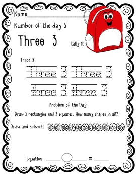 Number of the Day: August Freebie