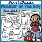 Number Sense FREEBIE Number of the Day Back to School Firs