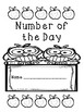 Number of the Day Blank Pages (10-1000)