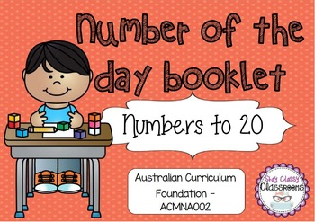 Number of the Day Booklet - Numbers to 20