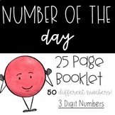 Number of the Day Booklets