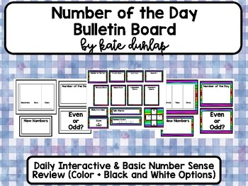 Number of the Day Bulletin Board