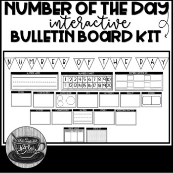 Number of the Day Bulletin Board FREEBIE