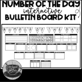 Number of the Day Mini Bulletin Board Kit