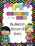 Number of the Day Bulletin Board Set: Neon and Black
