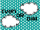 Number of the Day Bulletin Board Set - Turquoise Polka Dots