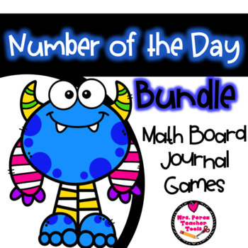 Number of the Day Bundle: Journal, Board & Games