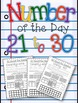 Number of the Day Bundled Pack  1-30