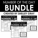 Number of the Day BUNDLE: 1-1000  DAILY NUMBER SENSE | Dis