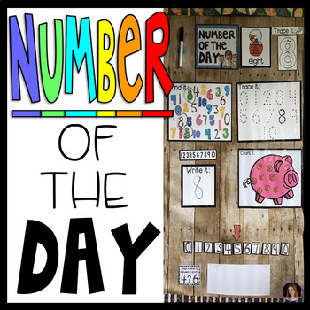 Number of the Day Calendar Companion (Preschool and Kindergarten)