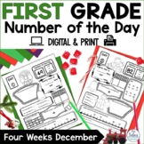 Digital Place Value Google Slides™ First Grade Math Number