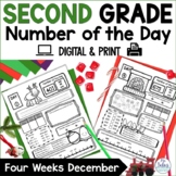 Number of the Day December Place Value Practice