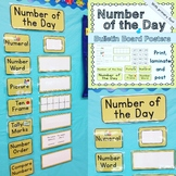 Number of the Day Circle time Bulletin Board Posters + Stu