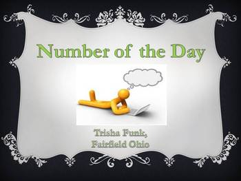 Number of the Day, Daily Math Warm-up