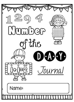Number of the Day - Differentiated Journal Pages