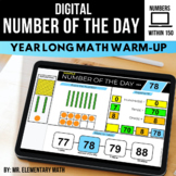 Number of the Day   Digital Activities for 1 - 150   Dista