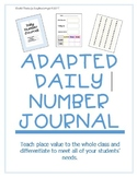 My Daily Number Journal