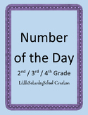 Number of the Day: Elementary Level