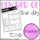 Number of the Day {FREEBIE}