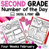 Number of the Day February Place Value Practice