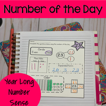 Number of the Day First Grade (Decomposing Numbers)