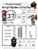Number of the Day Forms for the Primary Classroom