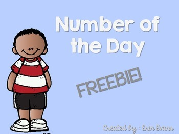 Number of the Day - Freebie