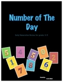 Number of the Day Grades 3-5