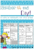 Number of the Day Homework Journal