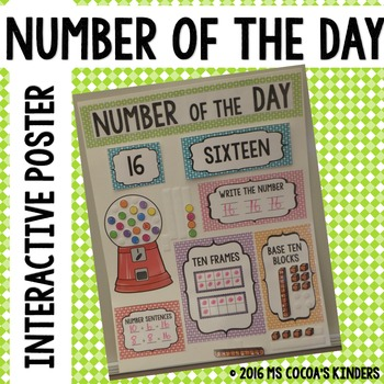 Number of the Day Poster